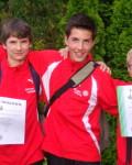3x800m-Staffel wird U14-Kreismeister